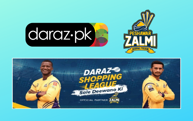 Daraz.pk Launches the Daraz Shopping League in Official Partnership with Peshawar Zalmi