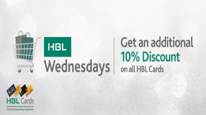 Daraz and HBL team up to announce HBL Wednesdays!