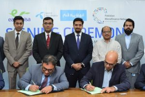 PMN and Telenor Microfinance Bank sign an agreement to digitize Pakistan's Microfinance Industry