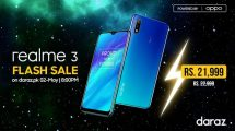 • Prettiest power king realme 3 calls upon youngsters with its exquisite offerings on Daraz.pk