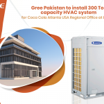 GREE Pakistan to install 300 Ton capacity HVAC system for Coca Cola Atlanta USA Regional Office