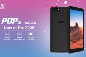 TECNO Mobile Has Reduced The Price Of Its Most Famous Budget Smartphone Pop 2