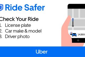 As part of its continued commitment to safety, Uber launches Check Your Ride reminder across the region