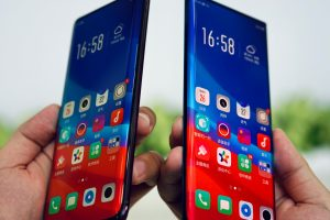 """OPPO showcases """"Waterfall Screen"""" technology, exploring ultimate design aesthetics and visual experience"""