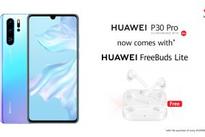 HUAWEI P30 Pro Now Comes with HUAWEI FreeBuds Lite for Free