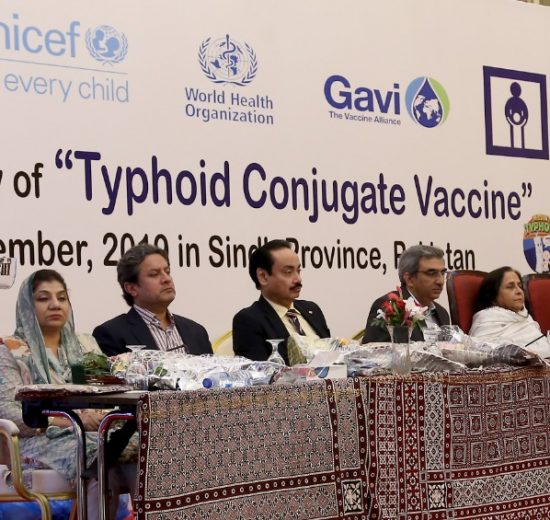 Pakistan Becomes the First Country to Introduce Typhoid Conjugate Vaccine
