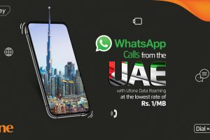 Ufone launches the most economical data package in UAE